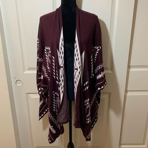 Charlotte Russe | Warm winter shawl Poncho Shrug